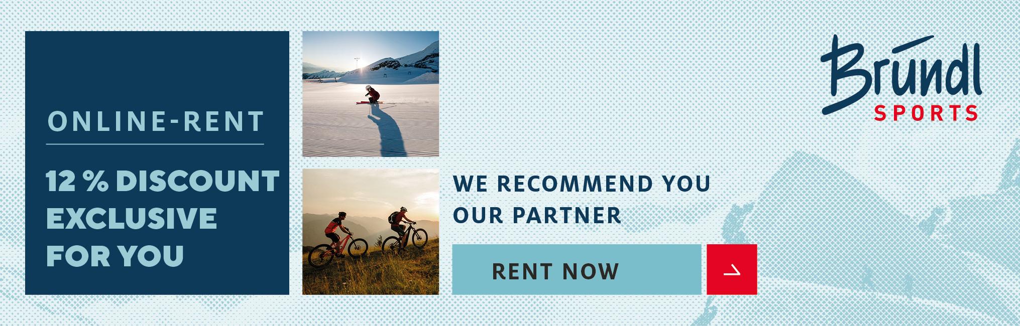 Intersport Bruendl - Our partner for ski rental
