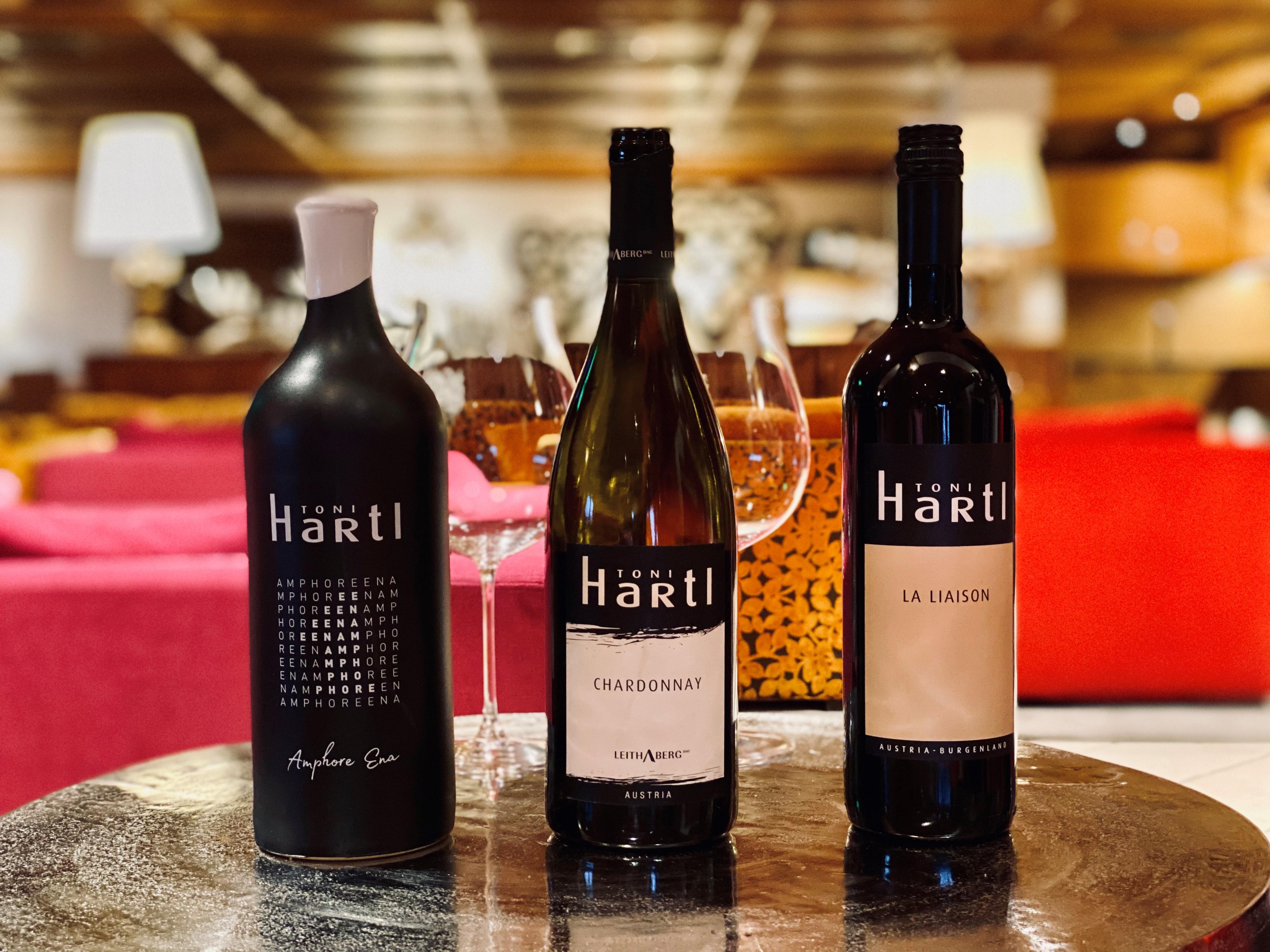 Weinauswahl von Toni Hartl
