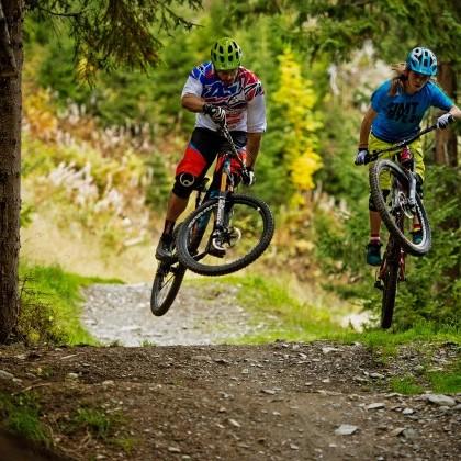 Adrenalinkick pur - Trails in unterschiedlichen Schwierigkeitsstufen
