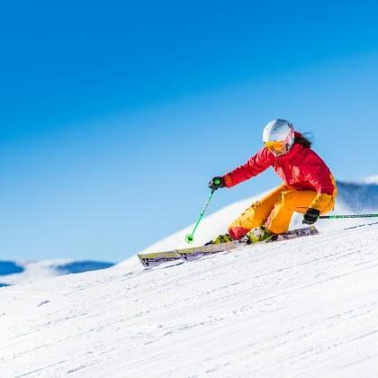 Skifahren in Saalbach Perfekte Pisten direkt beim Hotel eva,village in Saalbach Hinterglemm