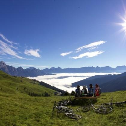Bergfeeling in den Salzburger Alpen
