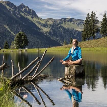 Die Berge sind der beste Ort für eine Meditation