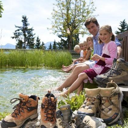 Die Saalbacher-Bergwelt mit der ganzen Familie genießen