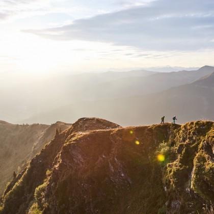 Mountainlover erklimmen die Gipfel bis der erste Schnee kommt