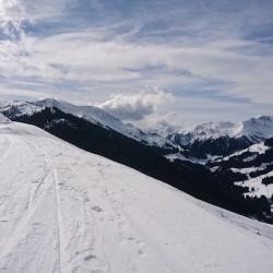 Skitour in Saalbach 2