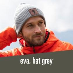 eva, beanie grey - 31,00 € stylish, woolen, knitted hat