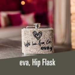 eva, hip flask - 19,00€ practical hip flask for peak freaks