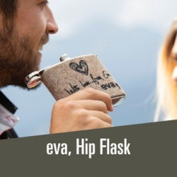 eva, hip flask - 19,00€ Must have for every mountain lover