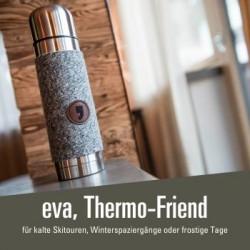 eva, Thermo Friend - 35,00 € Thermosbecher - perfekter Begleiter Sommer und Winter