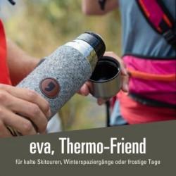 eva, Thermo-Friend - 35,00 € Thermoskanne, Trinkflasche mit Filz Detail