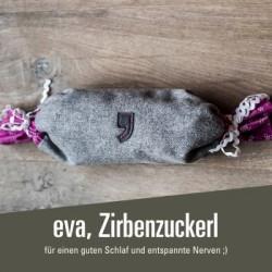 eva, Zirbenzuckerl - 14,80 € Kissen gefüllt mit Zirbenspänen